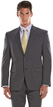 Chaps Big & Tall Classic-Fit Gray Wool-Blend Comfort Stretch Suit Jacket
