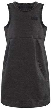 Ikks Charcoal Jersey Pinafore Dress