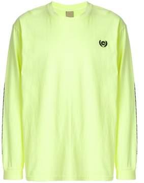 Yeezy Men's Yellow Cotton Sweatshirt.