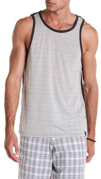 Burnside Striped Colorblock Tank Top