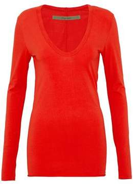 Enza Costa Stretch Cotton-Jersey Top