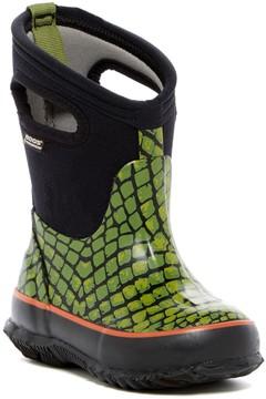 Bogs Classic Scale Waterproof Rain Boot (Toddler & Little Kid)