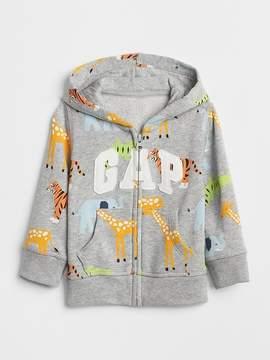 Gap Print Logo Hoodie Sweatshirt