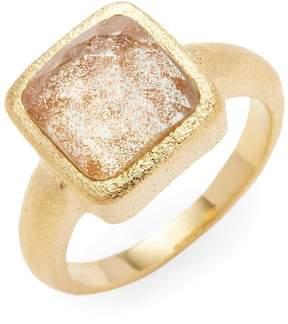 Rivka Friedman Women's 18K Gold Quartz Ring