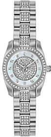 Bulova Women's Stainless Swarovski Crystal Watch