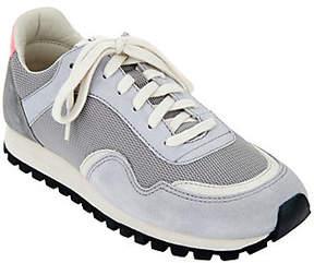 ED Ellen Degeneres Suede & Fabric Sneakers - Farren 4