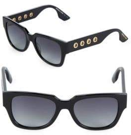McQ 51MM Rectangle Sunglasses
