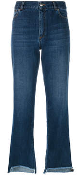 Each X Other fringed edge jeans