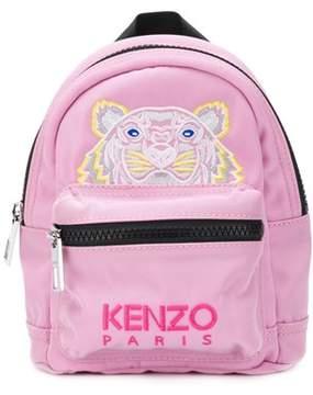 Kenzo Women's Pink Polyamide Backpack.
