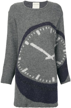 Stephan Schneider oversized clock jumper