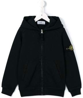 Stone Island Junior zipped hoodie