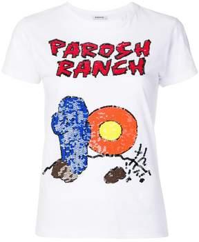 P.A.R.O.S.H. logo embellished T-shirt