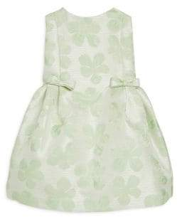 Helena and Harry Baby's, Toddler's& Little Girl's Mint Jacquard Dress