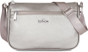 Kipling Callie Small Vegan Leather Crossbody, a Macy's Exclusive Style - BLACK - STYLE