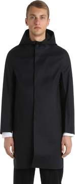 MACKINTOSH Hooded Rubberized Cotton Coat