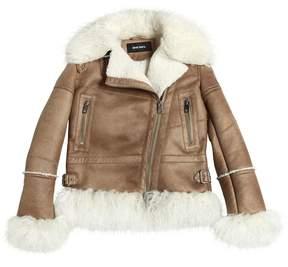 Diesel Faux Shearling & Faux Mongolia Jacket