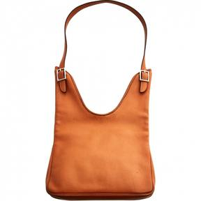 Hermes Massaï leather handbag - ORANGE - STYLE