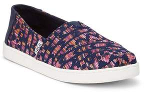 Toms Fuchsia Woven Sneaker (Little Kid & Big Kid)