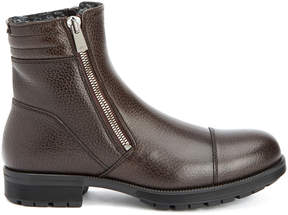 Aquatalia Hugh Waterproof Leather Shearling Boot