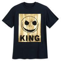 Disney Jack Skellington Metallic T-Shirt for Men