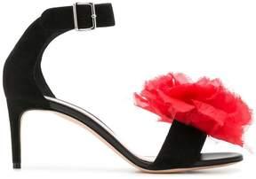 Alexander McQueen floral strappy sandals