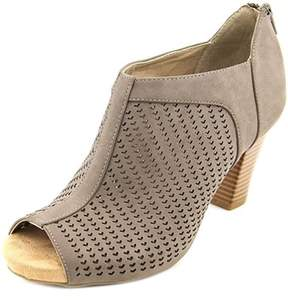 Giani Bernini Alanny Women Open-toe Synthetic Brown Bootie.
