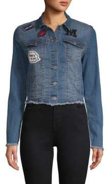 C&C California Frayed Denim Jacket