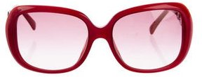 Emilio Pucci Geometric Oversize Sunglasses w/ Tags