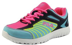 Fila Rocket Fueled Youth Round Toe Synthetic Multi Color Sneakers.