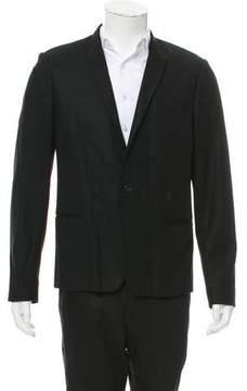 Christian Dior Wool One-Button Blazer