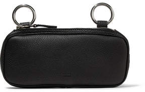 Simon Miller Long Pop Textured-leather Pouch - Black