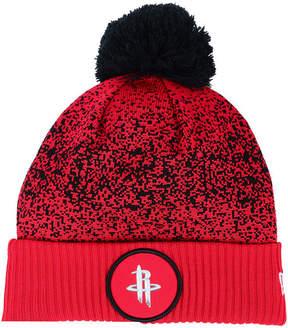 New Era Houston Rockets On-Court Collection Pom Knit Hat