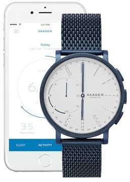 Skagen Men's Hagen Connected Hybrid Mesh Smartwatch, 42mm