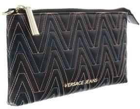 Versace EE3VRBPY1 Black Wallet on Chain