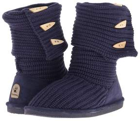 BearPaw Knit Tall Women's Pull-on Boots