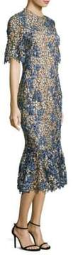 Shoshanna Yuri Floral Lace Dress