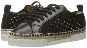 Sonia Rykiel Perforated Velvet Sneaker