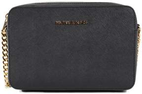 Michael Kors Large Jet Set Crossbody Bag - BLACK - STYLE