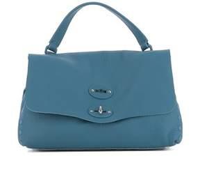 Zanellato Women's Light Blue Leather Handbag.