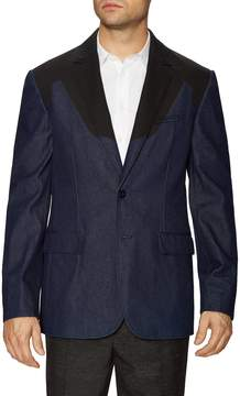 3.1 Phillip Lim Men's Colorblocked Single Breasted Notch Lapel Blazer