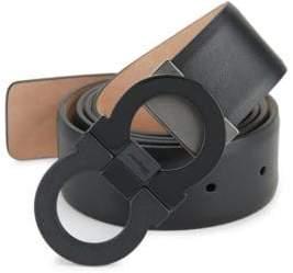 Salvatore Ferragamo Two-Toned Pin Closure Belt
