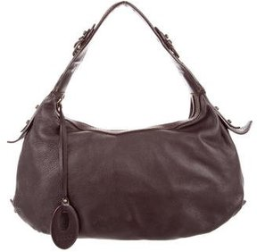 Emilio Pucci Grained Leather Hobo
