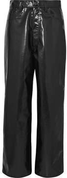 Facetasm Vinyl Pants - Black