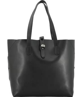 Hogan Leather Shopping Bag