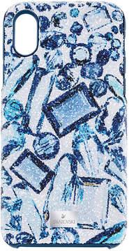 Swarovski High crystal Smartphone Case with Bumper, iPhone X, Multi-colored