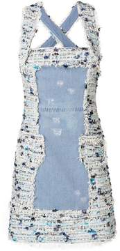 Blumarine shoulder strapped dress