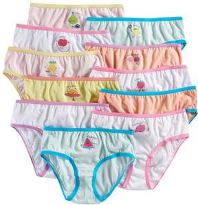 Maidenform Girls 4-14 11-pk. Fruit Days of the Week Brief Panties