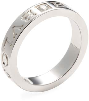 Bulgari Women's Vintage Bvlgari White Gold & Diamond Ring