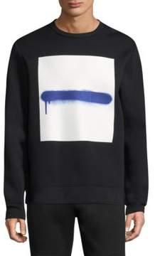 Diesel Black Gold Neoprene Graphic Sweatshirt