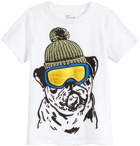 Epic Threads Snow Dog Graphic-Print T-Shirt, Little Boys (4-7), Created for Macy's